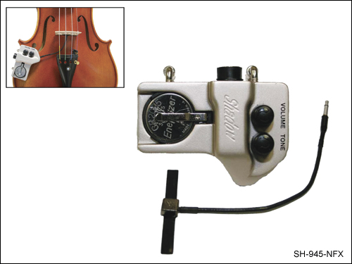 Shadow Nanoflex Active Pickup for Double Bass with Volume and Tone Control